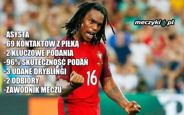 Renato Sanches lubi grać z Polską