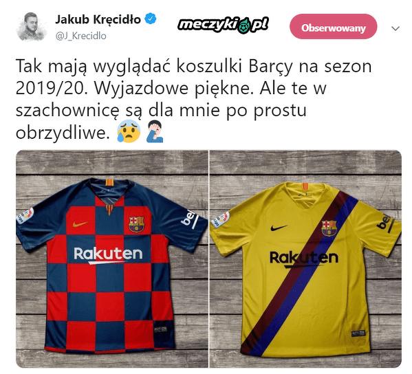 Koszulki Barcy na sezon 19/20