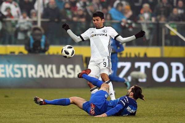 Legia znalazła zajęcie dla Eduardo. Były napastnik Arsenalu oprowadzi kibiców po stadionie