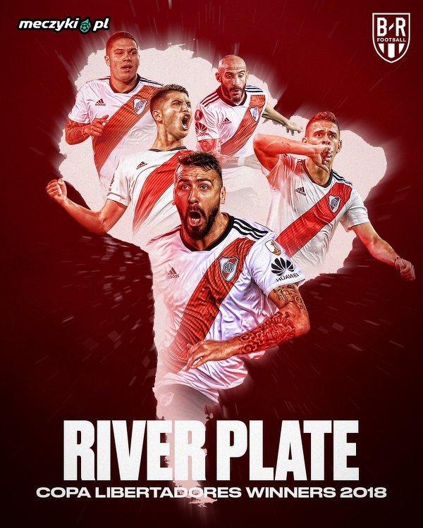 River Plate zwycięzcą Copa Libertadores