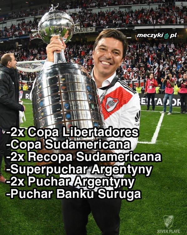 Marcelo Gallardo - prawdopodobnie najlepszy trener w Ameryce Południowej