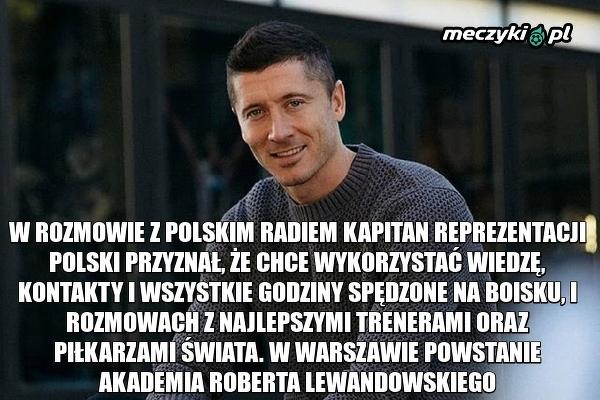 Lewandowski wyszkoli nową generację polskich piłkarzy