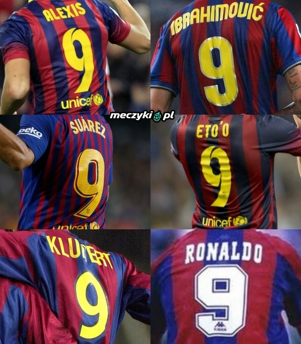 Twoja ulubiona dziewiątka w historii Barcelony?