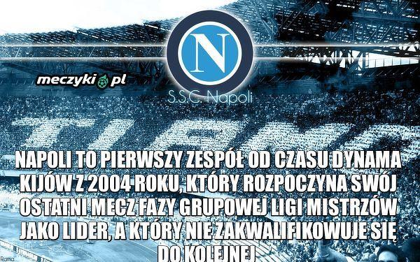 Napoli jak Dynamo Kijów z 2004 roku