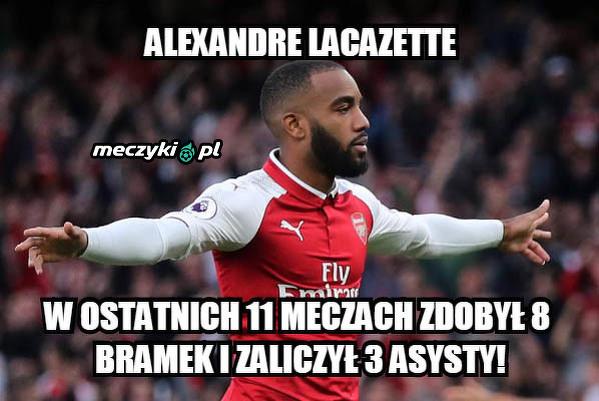 Lacazette skuteczny w ostatnich meczach