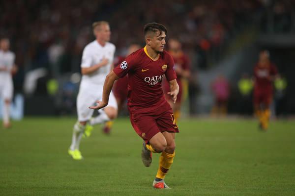 Skaut Arsenalu obserwował skrzydłowego Romy