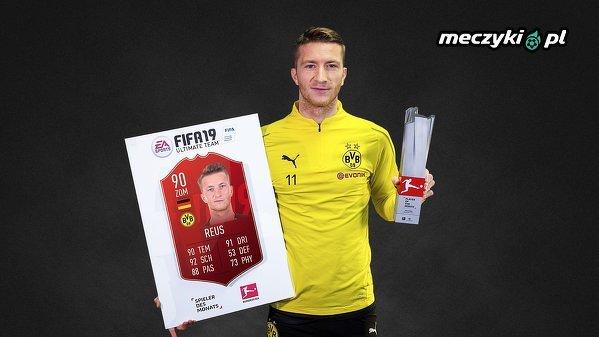 Marco Reus wybrany piłkarzem miesiąca w Bundeslidze