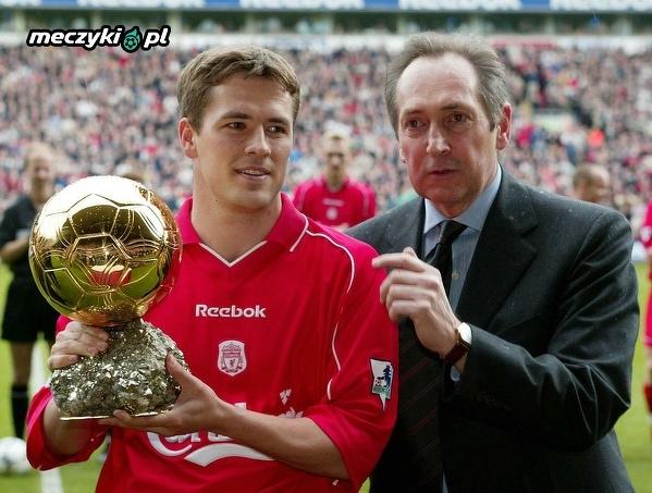 Legenda angielskiej piłki Michael Owen kończy dziś 39 lat