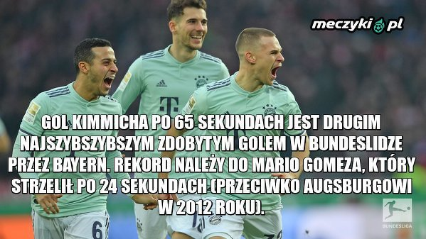 Szybka bramka Bayernu