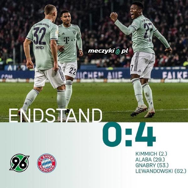 Łatwa wygrana Bayernu