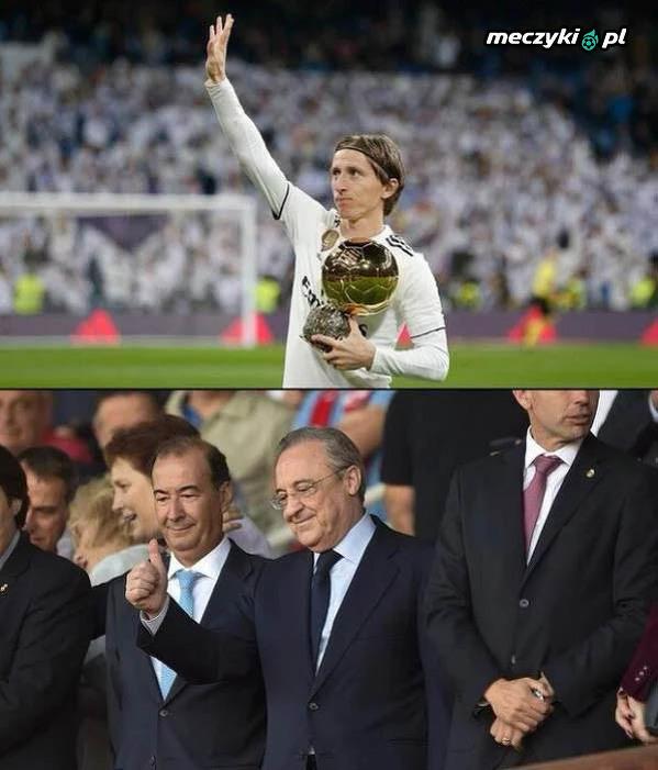 Podziękował za Złotą Piłkę