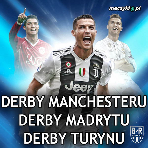 Ronaldo grał w wielkich derbach