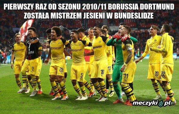 BVB mistrzem jesieni