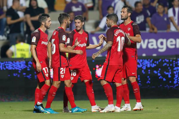 Sevilla dotrzymuje kroku najlepszym. Wygrała z Gironą FC