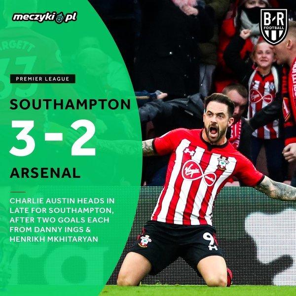 Southampton zakończył świetną passę Arsenalu