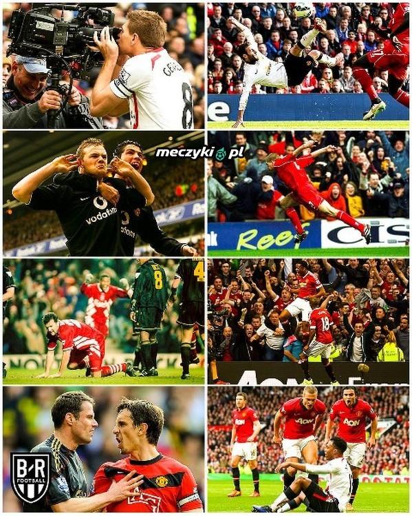 Zawsze się dużo działo w meczach między Liverpoolem a Manchesterem United