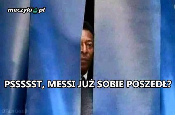 Pele po ostatnim meczu Messiego