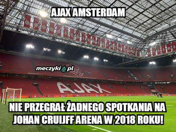 Ajax stworzył twierdzę
