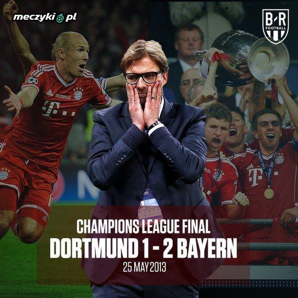 Kiedy ostatni raz Klopp grał przeciwko Bayernowi