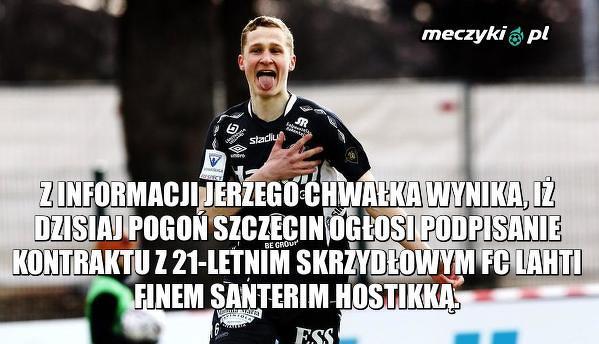 Nowy zawodnik Pogoni