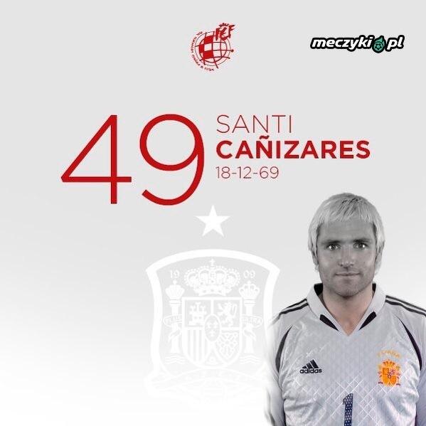 49. urodziny obchodzi Santiago Canizares