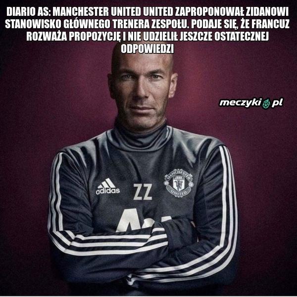 Manchester United chce Zidane