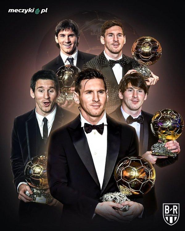 3 lata temu Leo Messi jako pierwszy piłkarz zdobył Złotą Piłkę po raz 5.