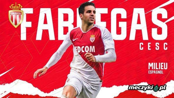 Oficjalnie: Cesc Fabregas piłkarzem Monaco