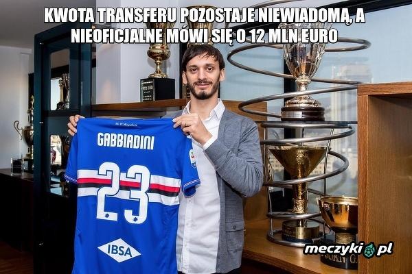 Manolo Gabbiadini oficjalnie przeniósł się z Southampton do Sampdorii