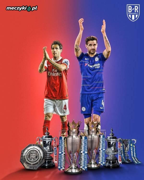 Wszystkie trofea Fabregasa w Anglii
