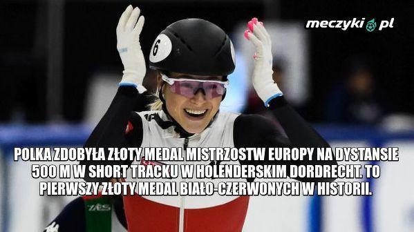 Natalia Maliszewska została mistrzynią Europy w short tracku!