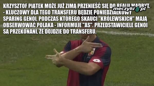 """""""Krzysztof Piątek w Realu Madryt. Przesądzone"""". Ma pobić transferowy rekord!"""