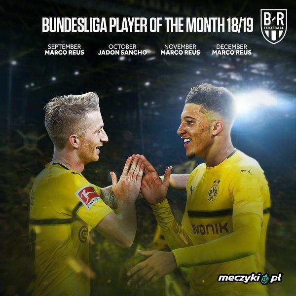 Cztery miesiące, cztery razy najlepsi byli piłkarze BVB