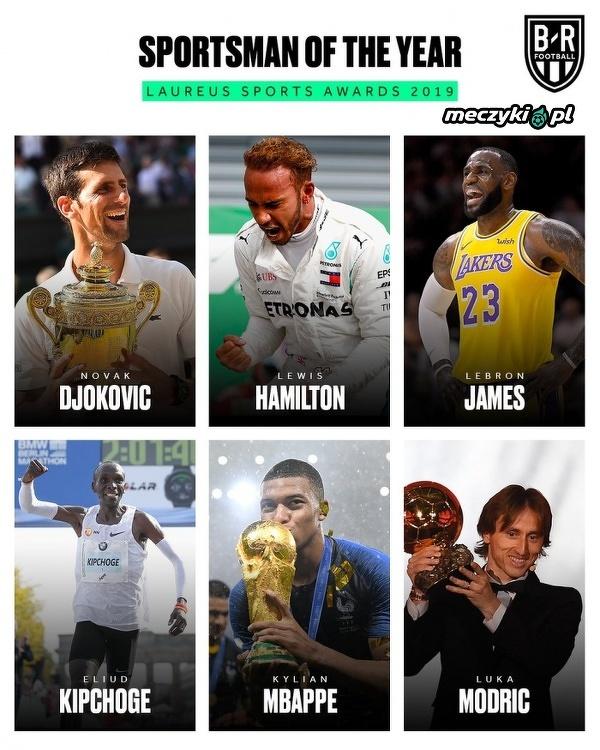 2 piłkarzy w gronie najlepszych sportowców świata