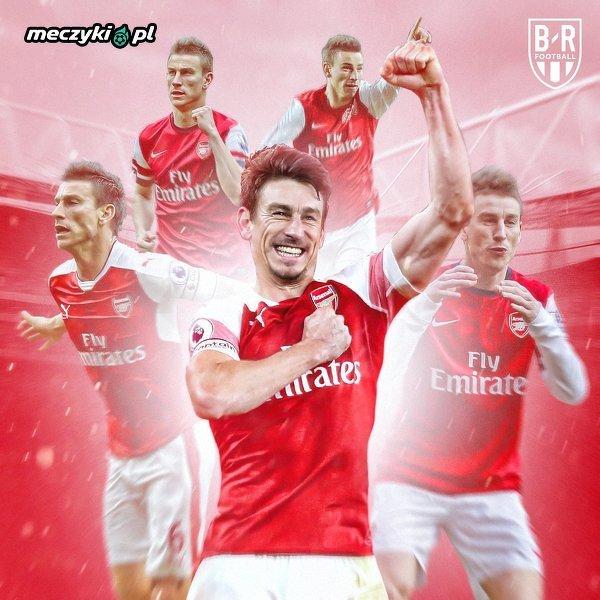 Koscielny strzelał we wszystkich 9 sezonach w Arsenalu