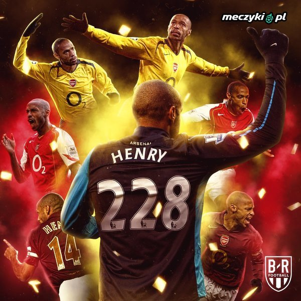 7 lat temu Thierry Henry zdobył ostatniego gola dla Arsenalu