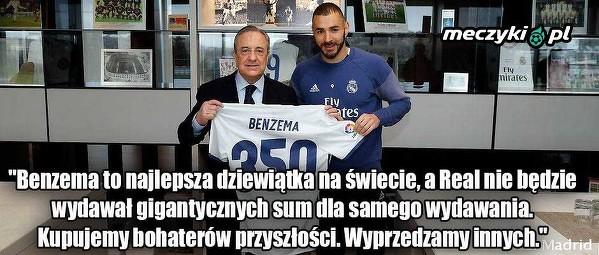 Perez o przyszłości Benzemy
