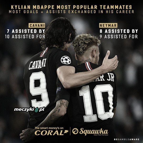 Mbappe wystąpi bez najlepszych kolegów na Old Trafford