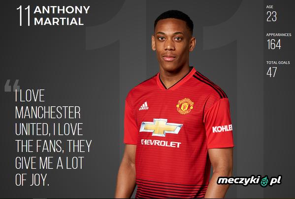 Anthony Martial o kibicach Manchesteru Utd