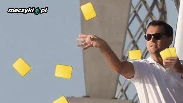 Sędzia Daniele Orsato przez pierwsze 45. minut meczu