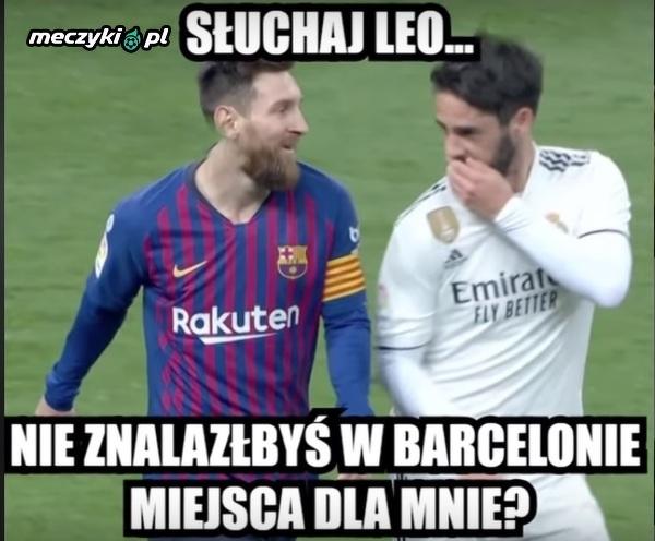 Isco chce przejść do Barcelony.