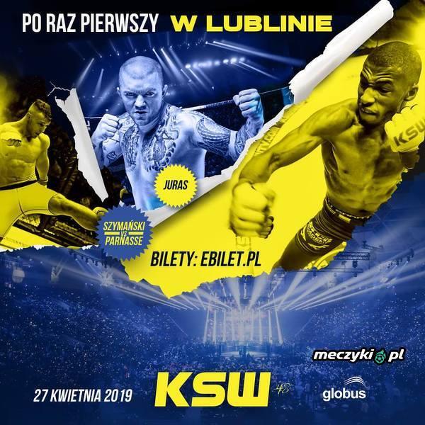 KSW pierwszy raz w Lublinie - gala w otwartym Polsacie!