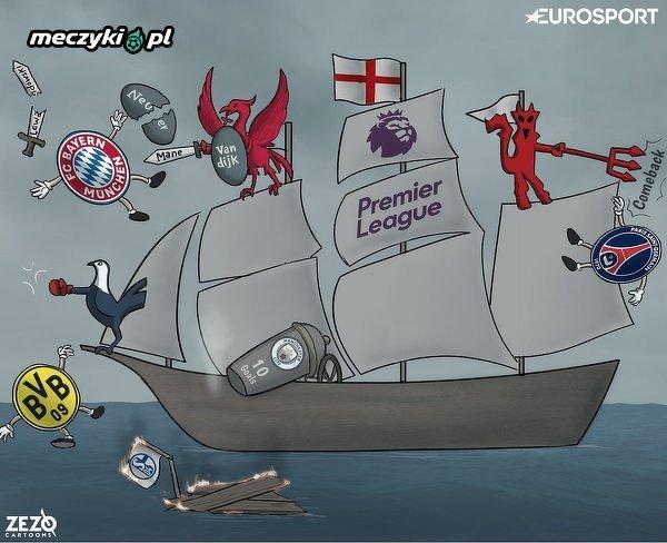 Angielskie kluby w Lidze Mistrzów
