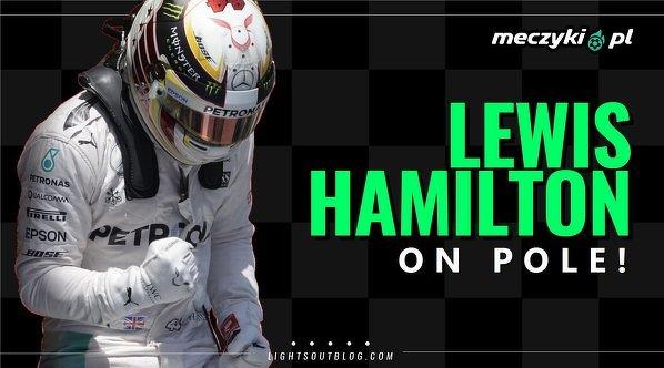 Szóste pole position z rzędu dla Hamiltona w GP Australii