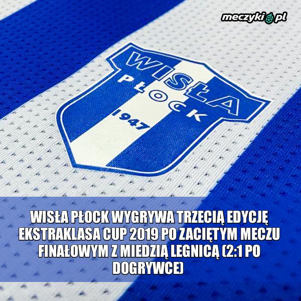 Nowy mistrz Ekstraklasa Cup 2019