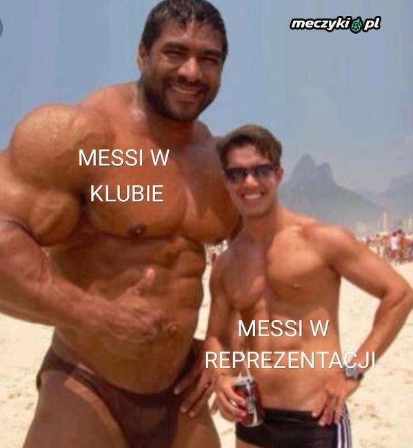 Dwa oblicza Messiego
