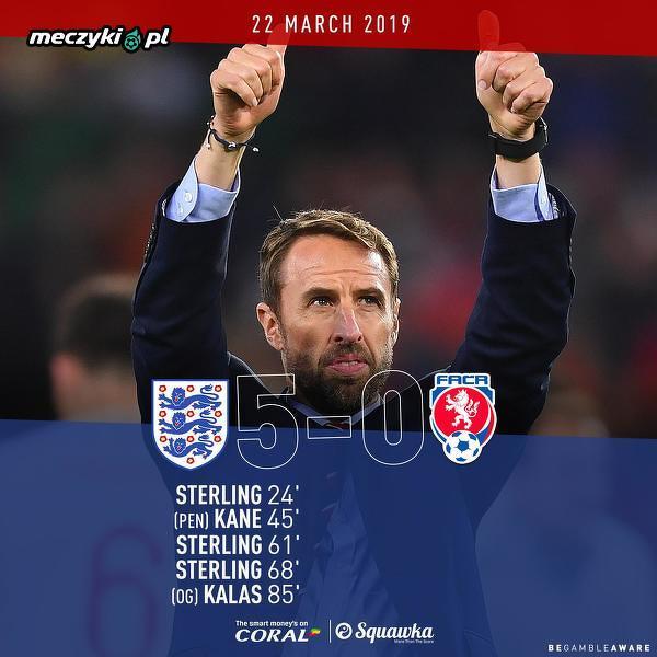 Anglia nie przegrała w meczach kwalifikacyjnych do Euro od 2017 roku