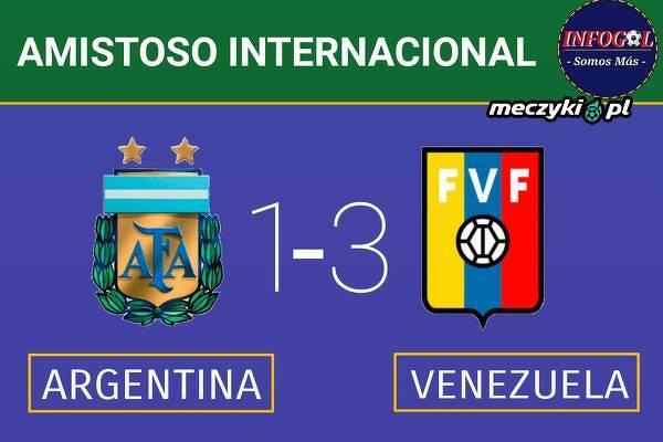 Argentyna przegrywa z Wenezuelą