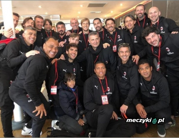 Legendy Milanu przed meczem gwiazd