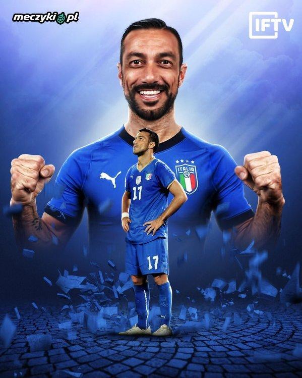 Po ponad 9 latach Fabio Quagliarella znowu zagrał w kadrze